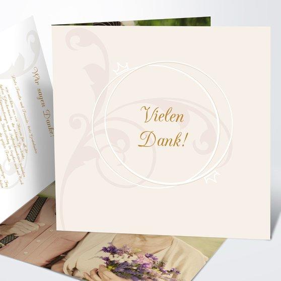 Danksagungskarten - Diamantene Hochzeit