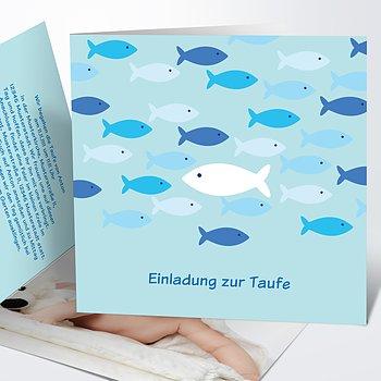 Taufkarten - Guppy