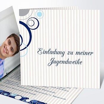 Jugendweihe Karten - Pustekuchen