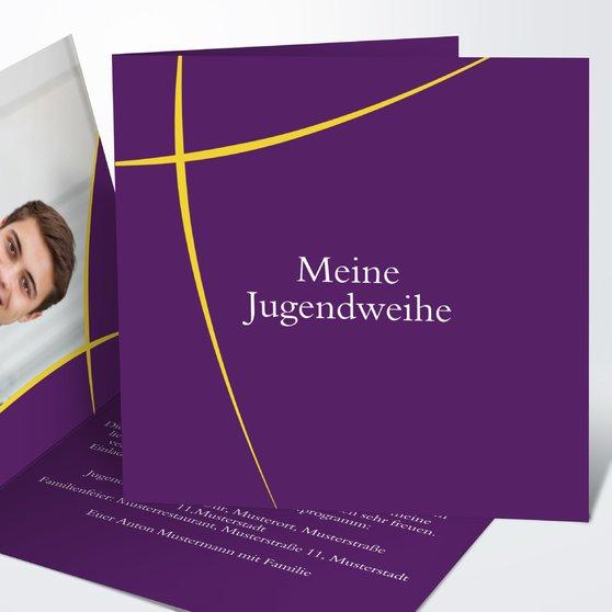 Jugendweihe Karten - Meteor