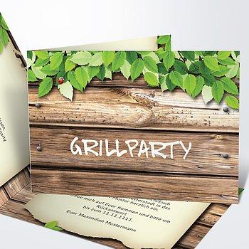 Geburtstagseinladungen - Grillparty
