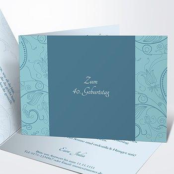 Geburtstagseinladungen - Card de Luxe