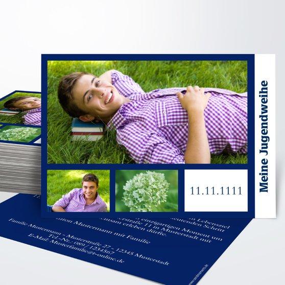 Jugendweihe Karten - Zeichen