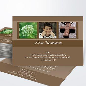 Kommunionskarten - Bilderreihe