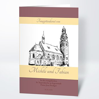 Kirchenheft - Ja, ich will