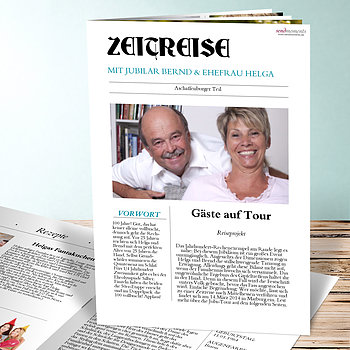 Geburtstagszeitung - Zeitung