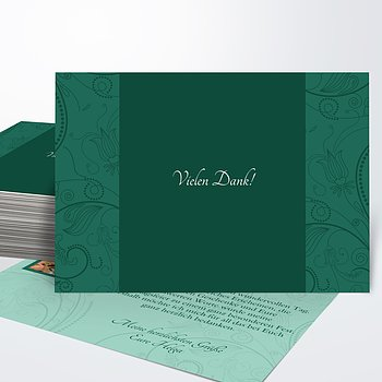 Danksagung Geburtstag - Card de Luxe Foto