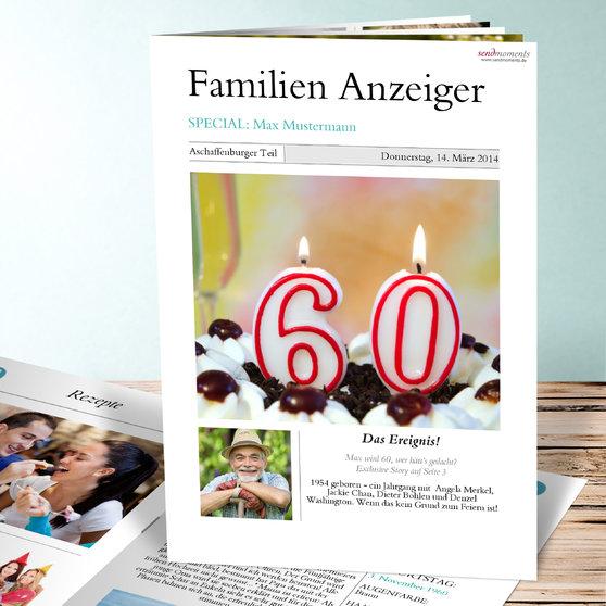 Zeitung - Rückstichheftung  (A4) 210x297 - Weiß