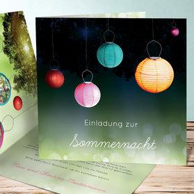 Einladungskarten Sommerfest - Designideen
