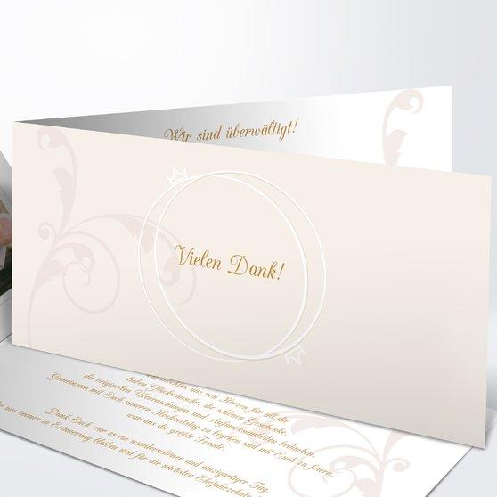 Pastellblüte - Horizontale Klappkarte 210x100 - Hellgelb