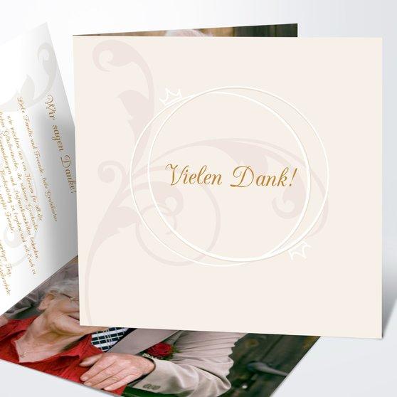 Pastellblüte - Quadratische Klappkarte 145x145 - Hellgelb