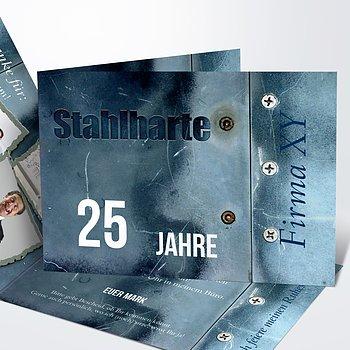 Jubiläum - Stahlhart