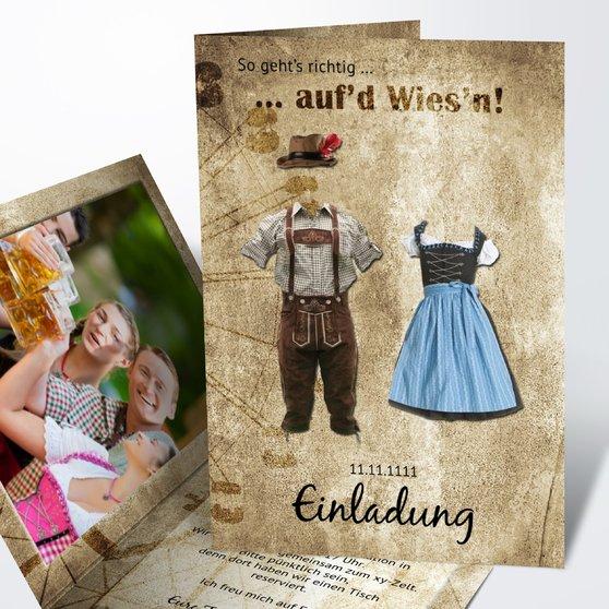 Oktoberfest - Wies'n Dress Code
