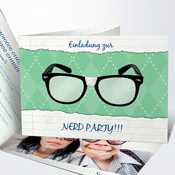Mottoparty - Nerd Party