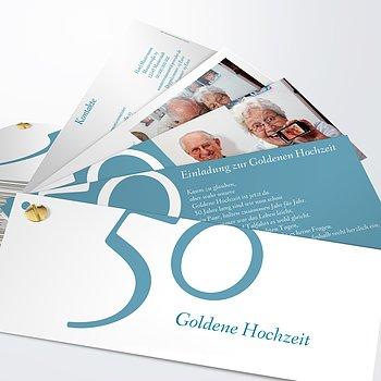 Goldene Hochzeit   50 Jahre Glück