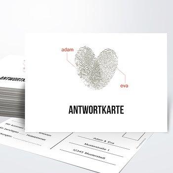 Antwortkarte - Fingerprint