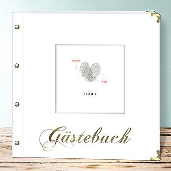Hochzeitsbuch - Fingerprint