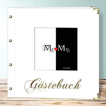 Hochzeitsbuch - Mr & Mrs