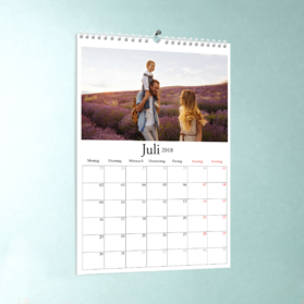 fotokalender f r 2017 mit eigenen fotos gestalten und. Black Bedroom Furniture Sets. Home Design Ideas