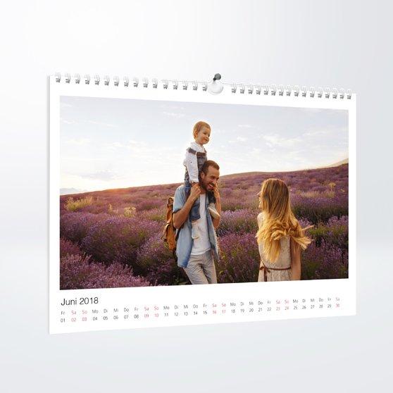 Klassisch - DIN A4: 297 x 210 mm - Weiß