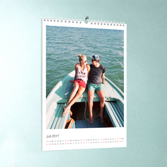 Klassisch - DIN A4: 210 x 297 mm - Weiß