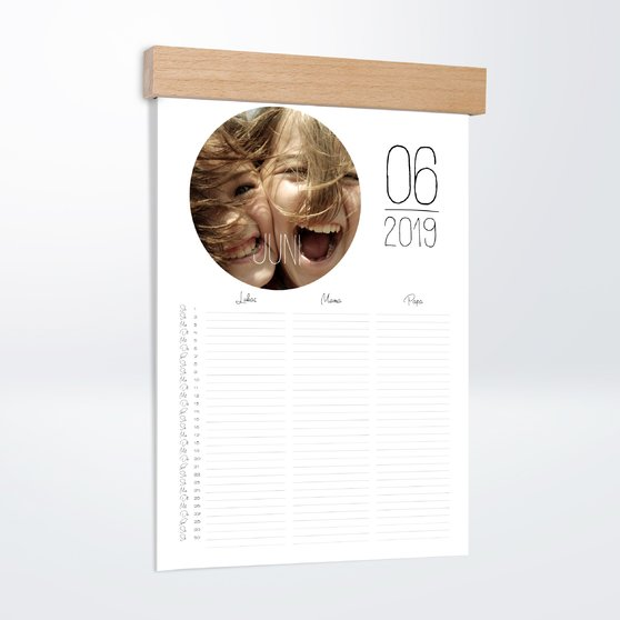 Fotokalender - Rundes Jahr Familienplaner