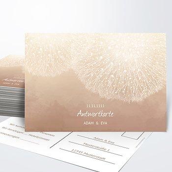 Antwortkarte - Löwenzahn