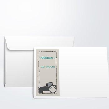 Umschlag mit Design Geburtstag - Bulldog