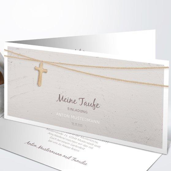 Einladungskarten Taufe - Taufeinladungen und Taufkarten selbst gestalten