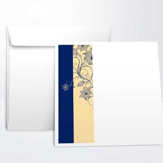 Umschlag mit Design Jugendweihe - Sinfonie