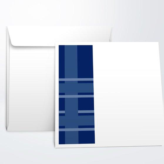 Umschlag mit Design Jugendweihe - Linien