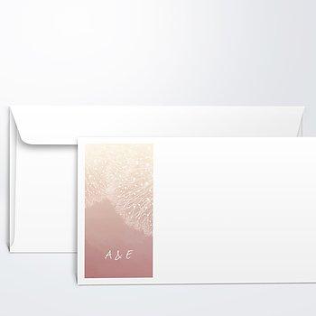 Umschlag mit Design Hochzeit - Löwenzahn