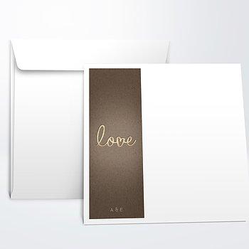 Umschlag mit Design Hochzeit - Pure Love