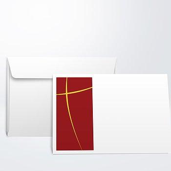 Umschlag mit Design Jugendweihe - Meteor