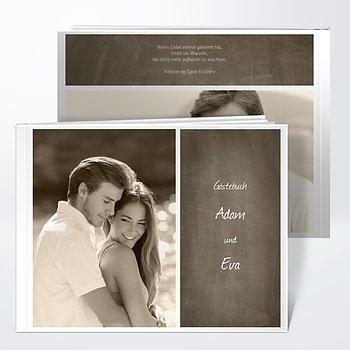 Gästebuch Hochzeit - Getäfelt