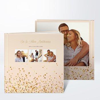 Gästebuch Hochzeit - Geflitter