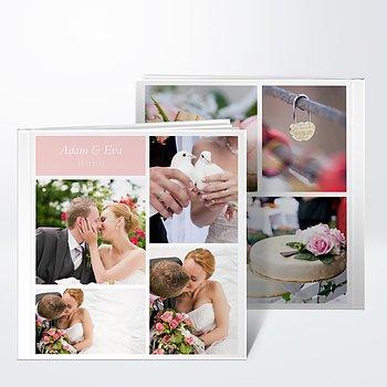 Fotobuch Hochzeit - Hochzeitscollage