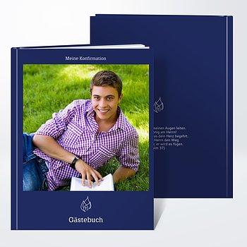 Gästebuch Konfirmation - Schlicht