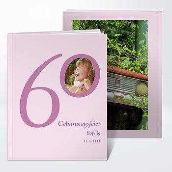 Fotobuch Geburtstag   Meine Sechzig