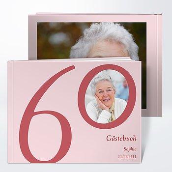 Gästebuch Geburtstag - Meine Sechzig