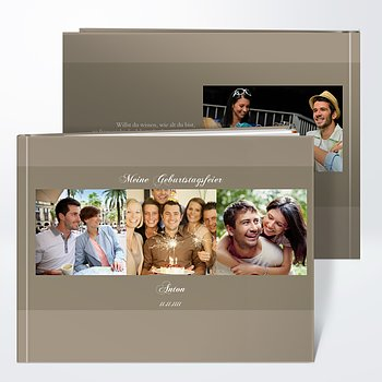 Fotobuch Geburtstag - Dreiklang