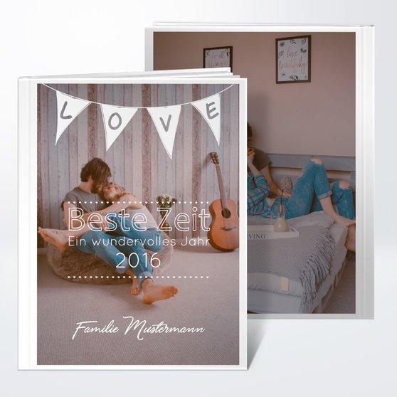 Fotobuch - Liebeswimpel