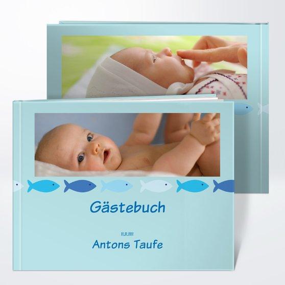 Gästebuch Taufe - Guppy
