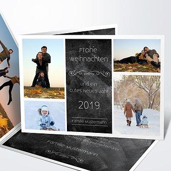 Weihnachtskarten - Weihnachtstafel