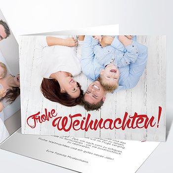 Weihnachtskarten - Fröhliches Fest