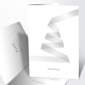 Weihnachtskarten Geschäftlich - Weihnachtsband