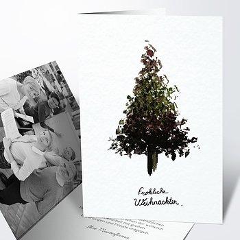 Weihnachtskarten Geschäftlich - Vorfreude