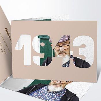 Geburtstagseinladungen - Jahrgang 1943