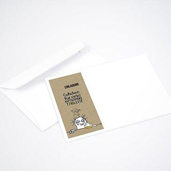 Umschlag mit Design Geburtstag - Hangover 50