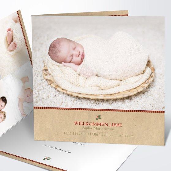 Geburtskarten - Süße Post